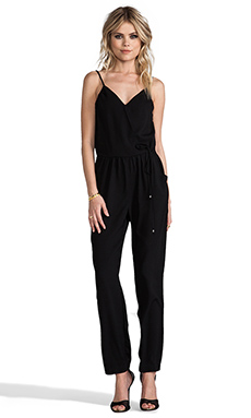 Greylin Kristin Jumpsuit in Black