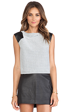 Greylin Ellis Top in White