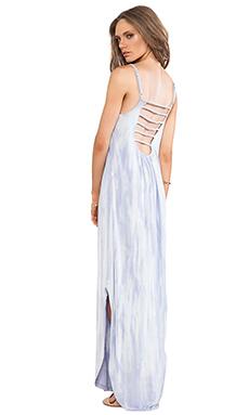 Gypsy 05 Scoop Back Dress in Multi Lavender