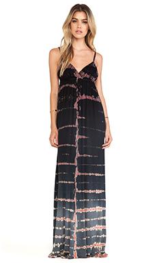 Gypsy 05 Desouk Triangle Maxi Dress in Black Ombre