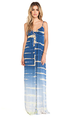 Gypsy 05 Desouk Triangle Maxi Dress in Blue Ombre