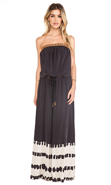 Gypsy 05 Cairo Tube Maxi Dress in Black