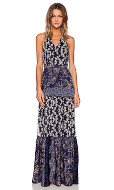 Gypsy 05 Halter Maxi Dress in Navy