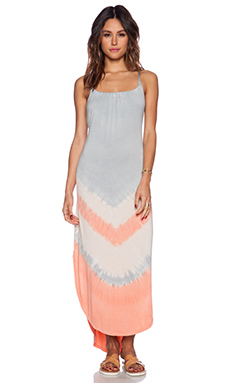 Gypsy 05 Crossback Maxi Dress in Smoke Salmon