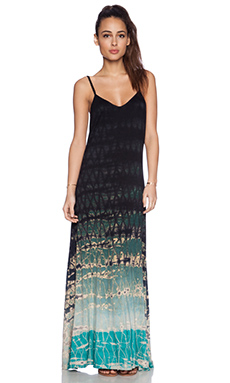 Gypsy 05 Spaghetti Strap Maxi Dress in Seafoam