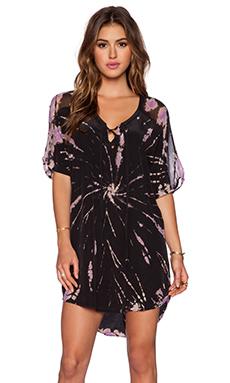 Gypsy 05 Dolman Mini Dress in Black