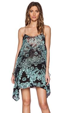 Gypsy 05 Printed Dress in Black