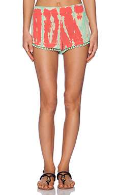 Gypsy 05 Pom Pom Short in Coral