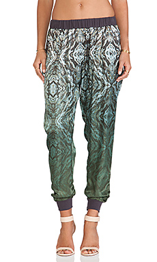 Gypsy 05 Monreale Printed Pants in Moss