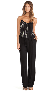 Gypsy 05 Zillij Jumpsuit in Black
