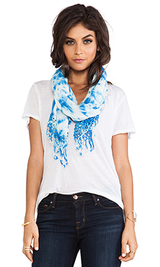 Gypsy 05 Iceberg Scarf in Blue Cream