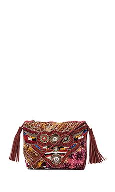 Gypsy 05 Ada Cross Body Bag in Burgundy