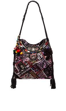 Gypsy 05 Ada Tote Bag in Black