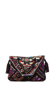 Gypsy 05 Ada Messenger Bag in Black