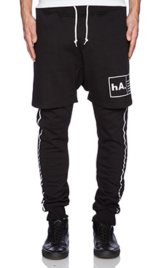 Haculla SOHO SWEAT Pant in Black