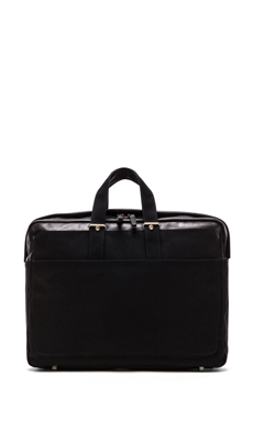 Haerfest F20 Briefcase in Black