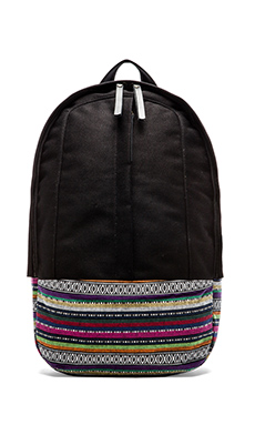 Haerfest Pattern Series Arch Backpack in Black