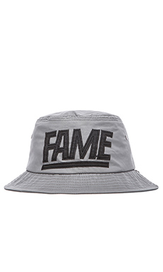 Hall of Fame 3M Block Bucket Hat in Silver