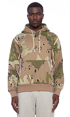Hall of Fame Vegtan Pullover in Camo