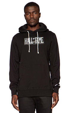 Hall of Fame Logo Hoody in Black