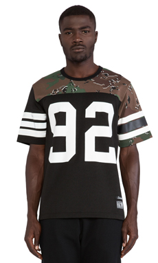 Hall of Fame Mash-Up Jersey in Black
