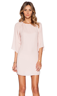 Halston Heritage Kimono Sleeve Dress in Sorbet