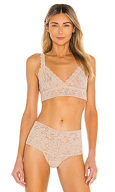 Hanky Panky Signature Lace Crossover Bralette in Chai