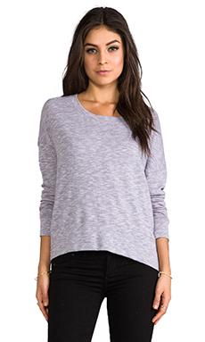MONROW Slouchy Sweatshirt in Purple Haze