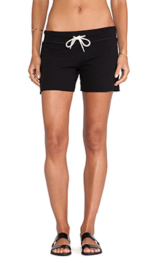 MONROW Vintage Shorts in Black