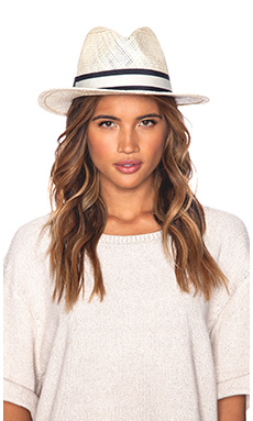Hat Attack Bleach Rancher Hat in Navy Bi-Color