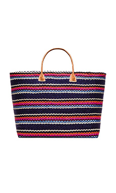 Hat Attack Provence Tote in Multi Stripe