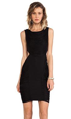 Haute Hippie Fringe Dress in Black