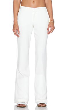 Haute Hippie Flare Pant in Swan