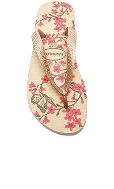 Havaianas Color Fashion Flip Flop in Sand Grey