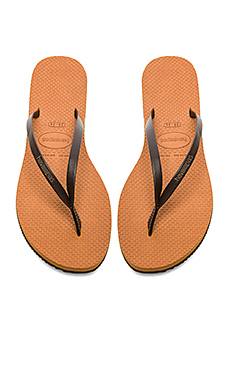 Havaianas You Flip Flop in Copper