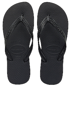 Havaianas Top Flip Flop in Black