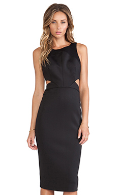 Hunter Bell Porter Dress in Black