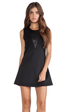 Hunter Bell Gena Dress in Black Lace