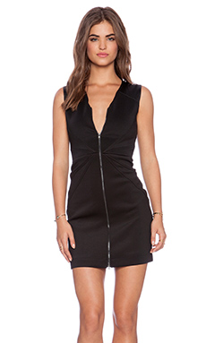 Hunter Bell Rachel Dress in Black