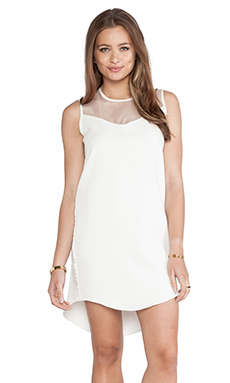 Hunter Bell Lindie Dress in Ivory