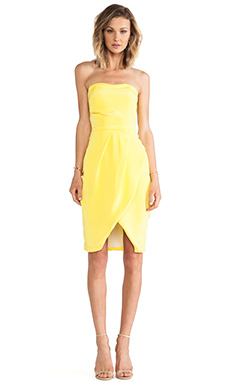 Hunter Bell Margot Dress in Yellow