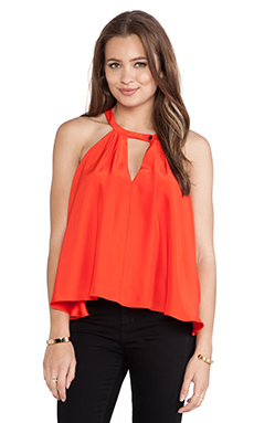 Hunter Bell Nina Top in Aurora Red