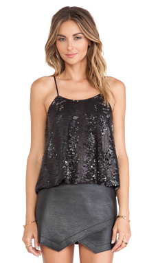 Hunter Bell Vixie Tank in Sequins