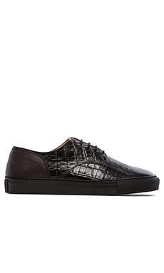 H by Hudson Vale 2 in Croc Black