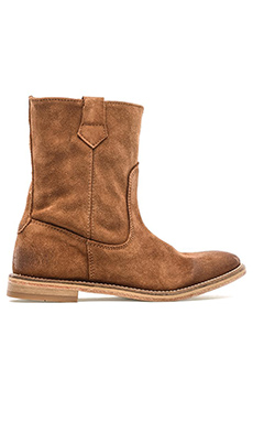 H by Hudson Hanwell Boot in Suede Tan
