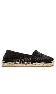 H by Hudson Bali Espadrille Sneaker in Black Suede