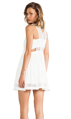 heartLoom Niko Dress in White