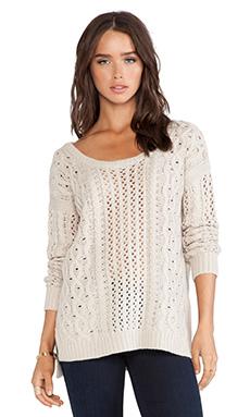 heartLoom Edna Sweater in Ivory