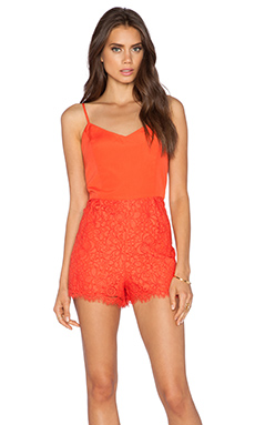 heartLoom Darling Romper in Cayenne