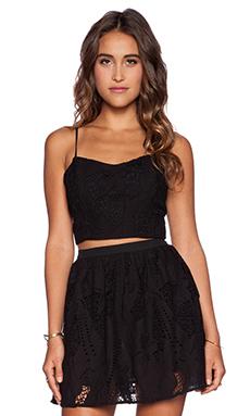 heartLoom Azure Top in Black